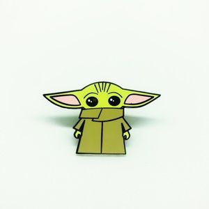 Cute Baby Yoda Enamel Pin for Kids and Adults